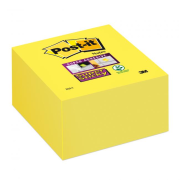 Bloček kocka Post-it Super Sticky 76x76mm žltá 350l